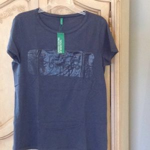 Tops - NWT UNITED COLORS OF BENETTON TEE